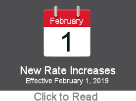 New rate increases